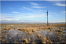 SD3444 : Wyre Estuary at Low Tide by Bob Jenkins