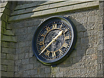 SD6715 : Church clock - St Peter's, Belmont by Gary Rogers