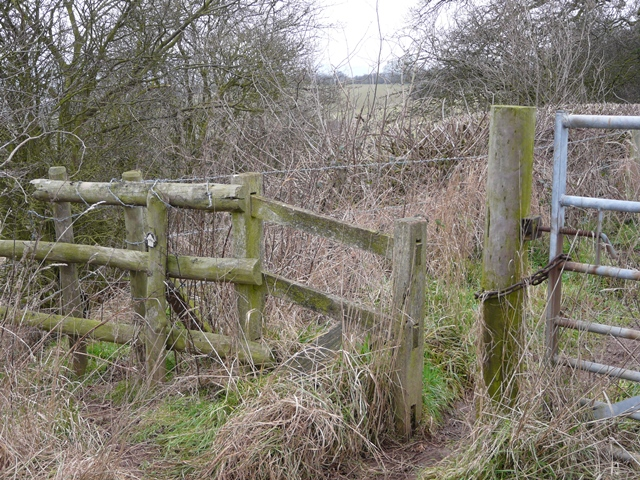 Stile on Cowley Hill