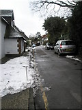 SU9948 : Parked cars in Beech Lane by Basher Eyre