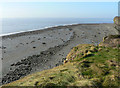SS9167 : Cliff top view, Nash Point by Mick Lobb