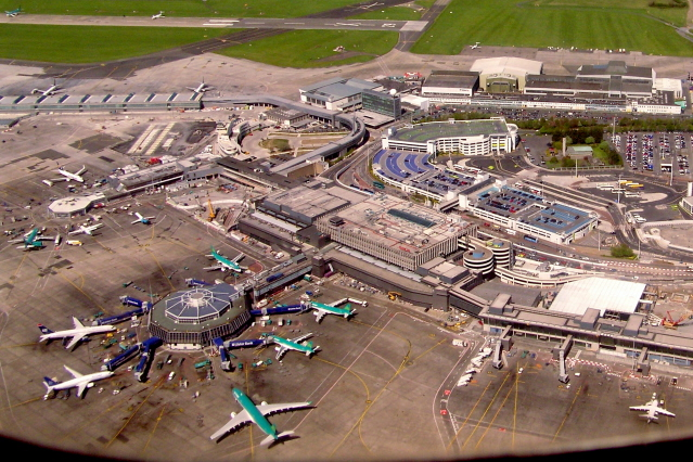 Dublin Airport takeoff