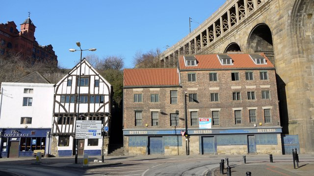 Old Buildings on The Close, Newcastle Quayside