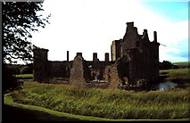 NY0265 : Caerlaverock Castle by ronnie leask