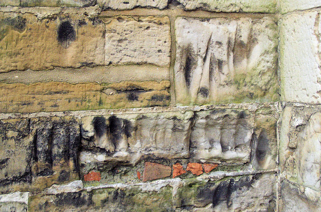 Scratch Marks, St Dunstan's Church, Mayfield