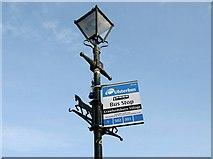 J4681 : Lamppost, Crawfordsburn by Albert Bridge