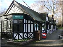 TQ2882 : The Pavilion Cafe, Regent's Park by Sheila Madhvani