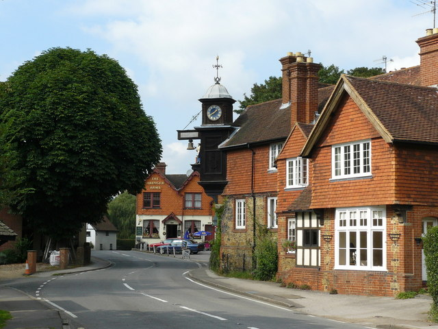 Clock at Abinger Hammer