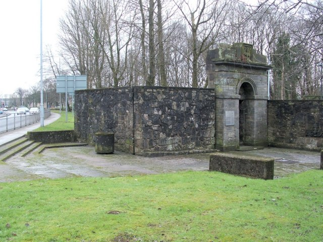 Remains of Dumbarton Prison