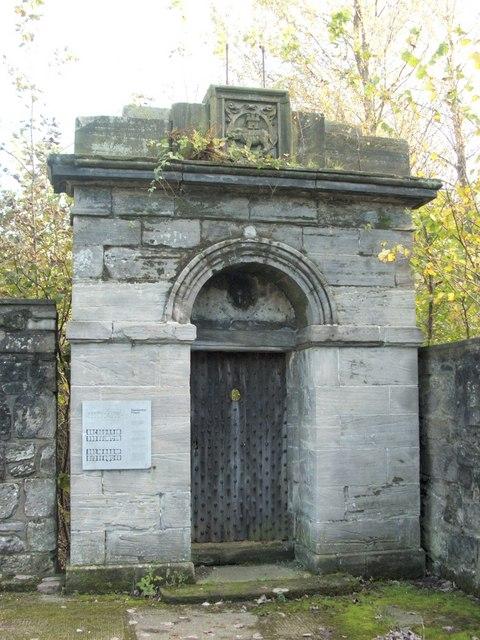 Dumbarton Prison - entrance portico