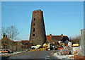 TA0222 : Hewson's Tower Mill, Barton Upon Humber by David Wright