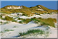 G6895 : Trawmore Strand sand dunes off Loughros More Bay by Joseph Mischyshyn