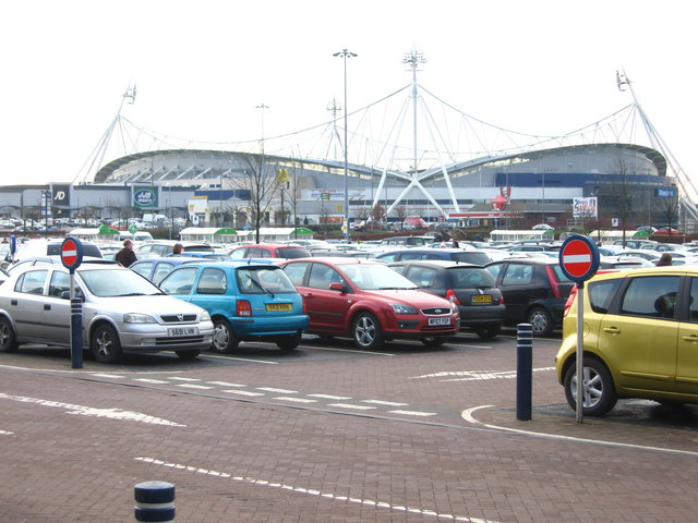 Reebok Stadium from Middlebrook