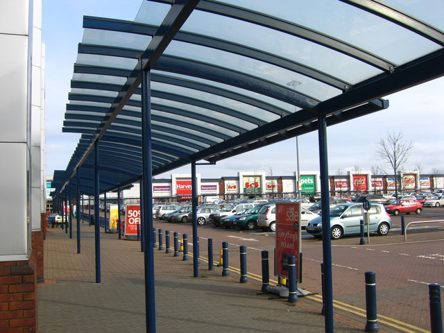 Covered Walkway - Middlebrook