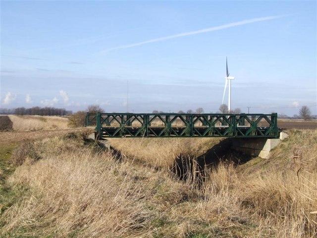 Bridge over Whitemill Drain