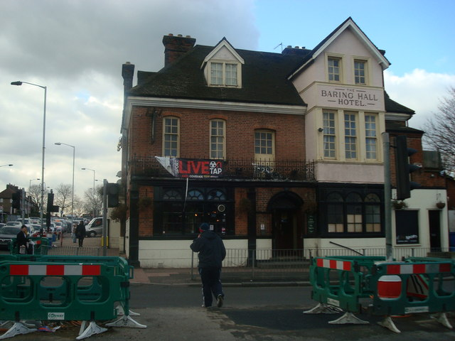 The Baring Hall Hotel Public House, Grove Park