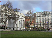 TQ2780 : Marble Arch by Alan Murray-Rust