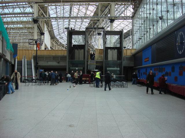 Waterloo International station concourse