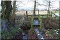 SO8043 : Footbridge, Lower Arles Wood by Bob Embleton
