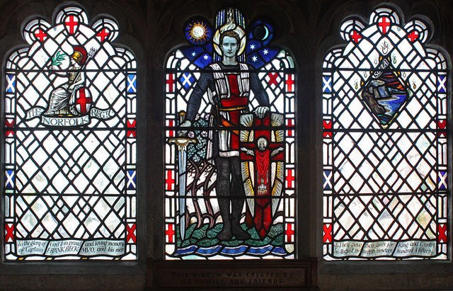 St Peter & St Paul, West Newton, Norfolk - Window