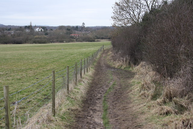 Footpath between Hassocks and Ditchling