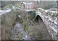 NY5563 : Lanercost Old Bridge, over Quarry Beck by Humphrey Bolton