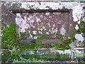 NY5563 : Warning stone, Lanercost Old Bridge, Burtholme by Humphrey Bolton