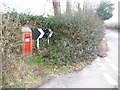 SU1213 : Alderholt: postbox № SP6 60, Pressey's Corner by Chris Downer