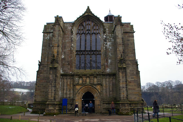 The west tower - Priory Church of St Mary and St Cuthbert