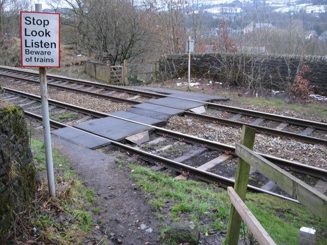 Railway Pedestrian Crossing