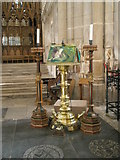SU4829 : The lectern at Winchester Cathedral by Basher Eyre