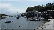 SH5638 : Porthmadog Harbour by Peter Trimming