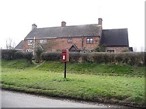SU0017 : Sixpenny Handley: postbox № SP5 394, Dean Lane by Chris Downer