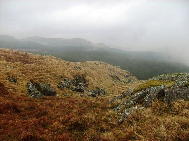 Re-entrant north of Bryn Mawr