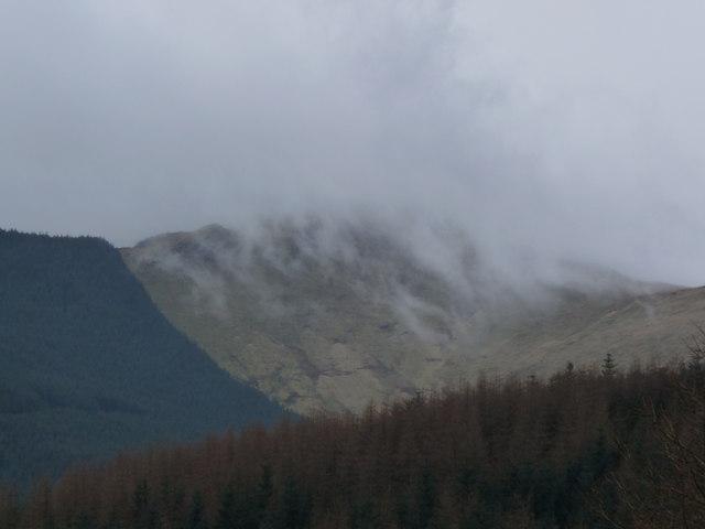 Cloud over Mynydd Cedris