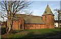 NY2466 : St John's Episcopal Church at Eastriggs by Walter Baxter