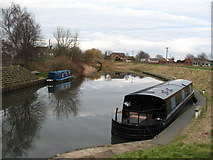 SE5726 : Selby Canal at West Haddlesey by Gordon Hatton