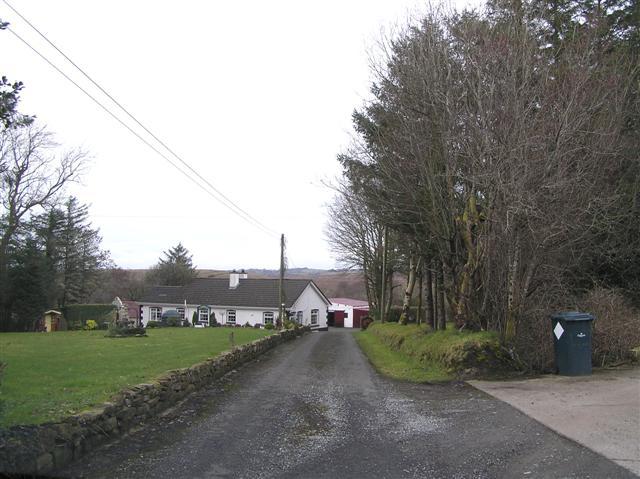 Road at Tower Beg