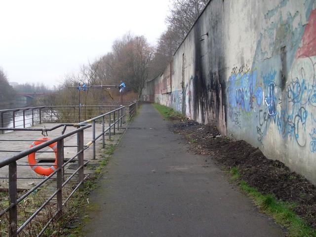 Clyde Walkway, Dalmarnock