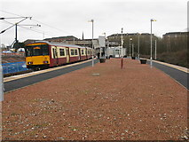 NS6161 : Rutherglen Railway Station by G Laird