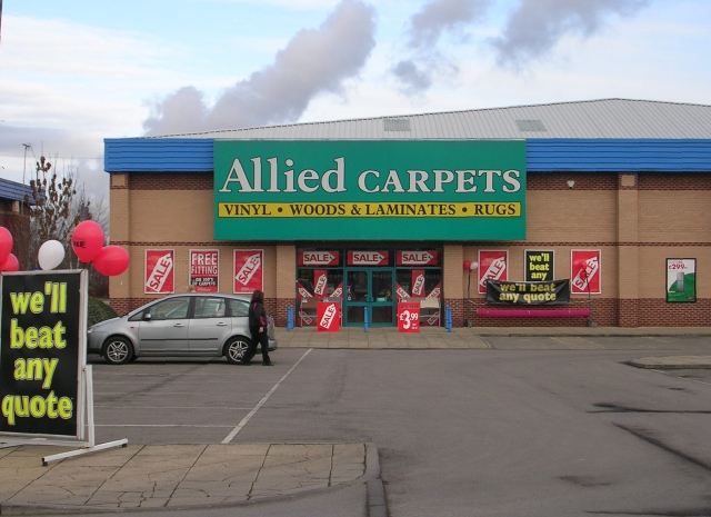 Allied Carpets Park Road Retail