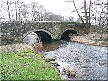 NY4532 : The bridge at Little Blencow, Greystoke Civil Parish by Humphrey Bolton
