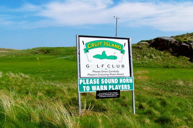 Cruit Island - Golf course
