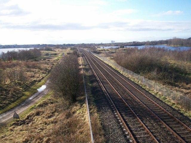 Belfast to Dublin Railway Line near Lurgan