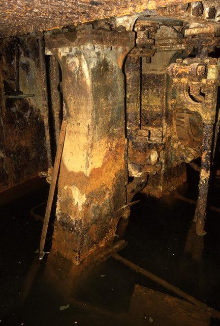 Steam engine, SS Demon, Tipner