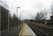 SU3521 : Looking eastwards from Romsey Railway Station by Basher Eyre
