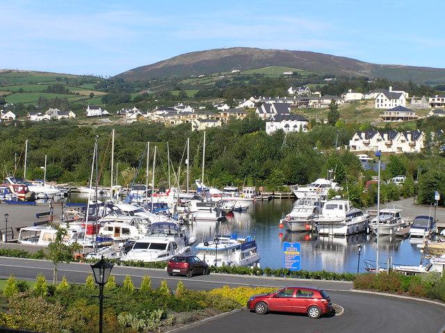 View of Marina from Kincora Hall Hotel, Killaloe