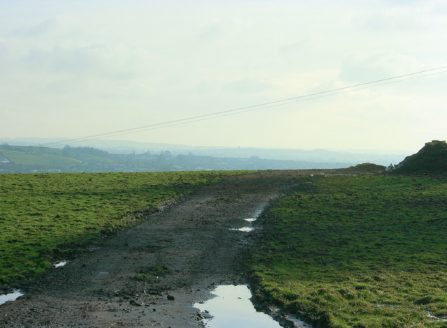 2009 : West of south from Bloomfield Road