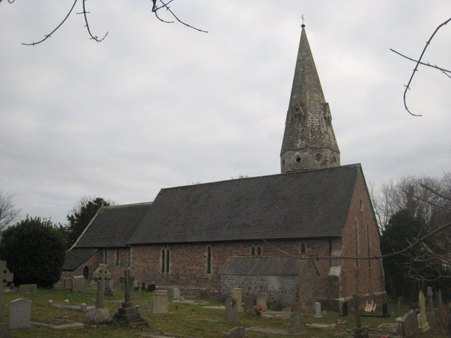 The church of St Mary the Virgin, Biscovey