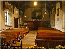 SD9772 : St Mary's Church, Kettlewell, Interior by Alexander P Kapp